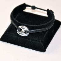 Bracelet réglable grain de café AR